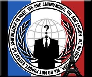 Anonymous アノニマス イスラム国 ISIS 5500 サイバー攻撃