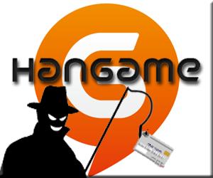 ハンゲーム フィッシングメール 偽サイト