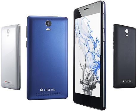 FREETEL Priori3s LTE 5型HD液晶 格安スマホ