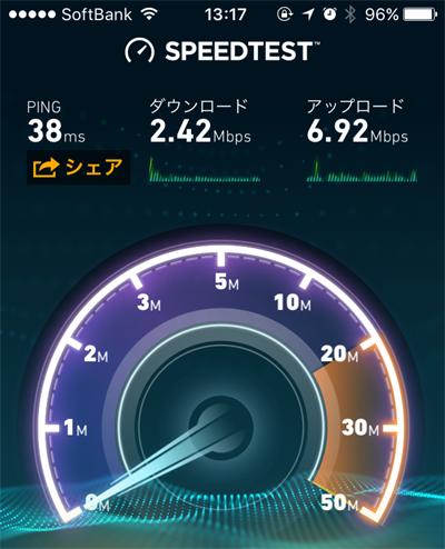 0円SIM So-net 0SIM 速度 比較 格安SIM