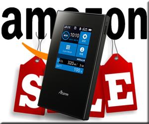 Amazonセール速報 NEC Aterm MR04LN 3B LTE モバイルルーター