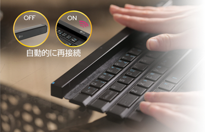 LG Rolly Keyboard KBB-700 Bluetooth 無線 キーボード