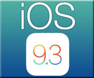 iPhone iPad Apple iOS 9.3 アップデート 新機能