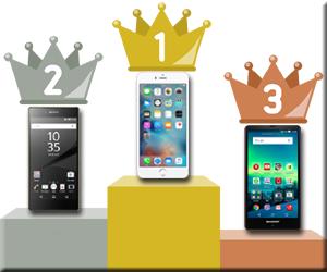 スマホ ランキング iPhone Xperia AQUOS スマートフォン