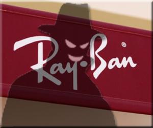 Ray-Ban 詐欺偽レイバン レイバンスパム スパムメール