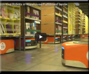 Amazon アマゾン 倉庫 ロボット コストカット 動画