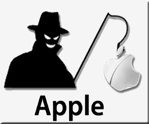 Apple アップル ストア フィッシングメール フィッシングサイト 添付ファイル 偽サイト 偽メール ID ロック サポートセンター iCloud