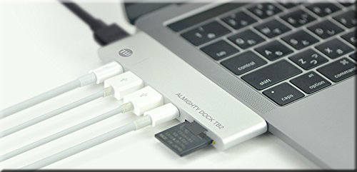 USB-C ハブ TUNEWEAR ALMIGHTY DOCK TB2 HDMI ポート MacBook Pro 拡張 スロット
