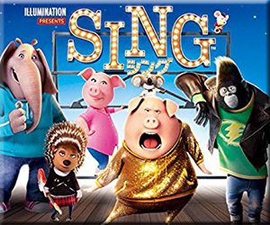 Amazon プライムビデオ 速報 見放題 新着 追加 SING シング 吹替 字幕 マシュー・マコノヒ リース・ウィザースプ セス・マクファ